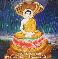 Boeddha en Slang2
