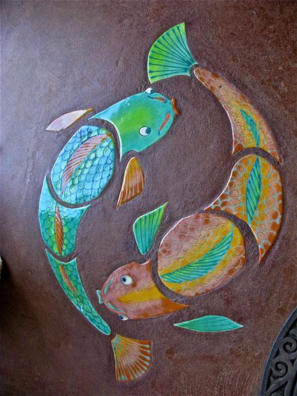 Symbool voor het astrologische teken Vissen