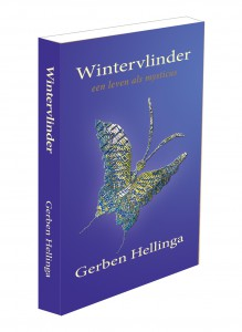 Wintervlinder 3D rechtop